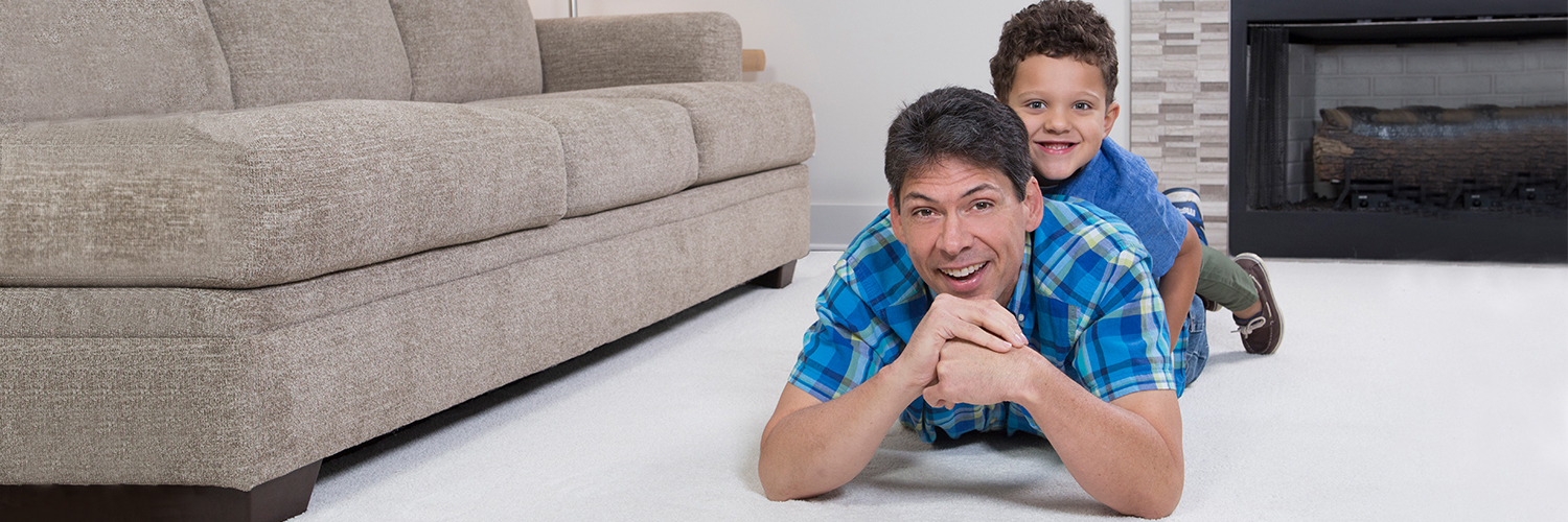 Family enjoys professional carpet cleaning in PA