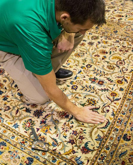 Professional Area and Oriental Rug Cleaning by Metro Chem-Dry